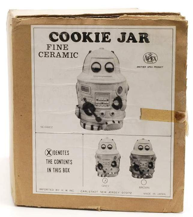 Ceramic Cookie Robot